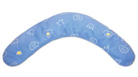 Theraline Stillkissen inklusive Krönchen-Bezug, blau, 170 cm