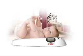 reer 6409 Baby Waage mit Musik