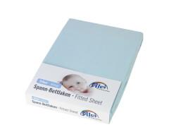 Spannlaken Trikot bleu 40 x 90 cm