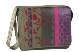 Lässig Casual Messenger Bag Colored olive