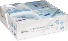Playshoes Geschenk-Set, 4-teilig, blau