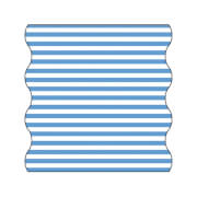 Lässig Twister Baby Stripe br