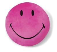NICI Kissen Smiley pink #35cm rund