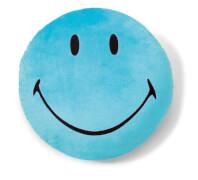 NICI Kissen Smiley blau #35cm rund