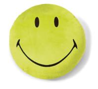 NICI Kissen Smiley grün #35cm rund