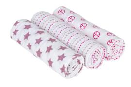 Lässig Swaddle & Burp Blanket large Sweet Dreams girls