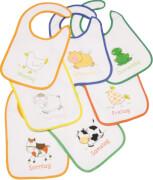 Fillikid 7 Tage Lätzchen, farblich sortiert
