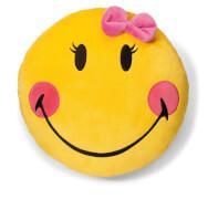 NICI Kissen Smileyworld gelb 35cm