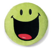 NICI Kissen Smileyworld grün 35cm