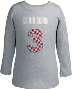 T-Shirt Ich bin schon 3 BabyGlück Gr. 98/104