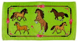 Zauberhandtuch Pferdefreunde