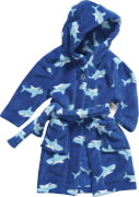 Playshoes Fleece-Bademantel Hai, Gr. 86/92