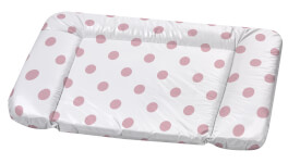 Wickelauflage  Kuschel Schlafmütze, rosa 75 x 85 cm