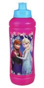 Disney Frozen - Die Eiskönigin Sportflasche aus Kunststoff, 425ml