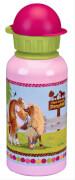 Die Spiegelburg - Alu-Trinkflasche Mein kleiner Ponyhof (0,4 l)
