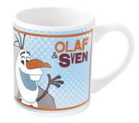 Disney Frozen - Die Eiskönigin Kinderbecher Olaf Porzellan, 0,2 l