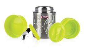 N#by Thermo Essensbehälter mit Löffel und Aufbewahrungsdose