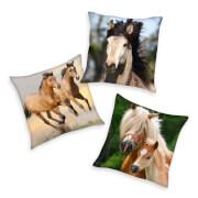 Dekokissen Pferde Größe 40 x 40 cm