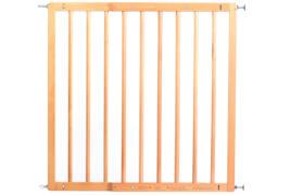 reer 46211 Tür- und Treppenschutzgitter Basic, Holz