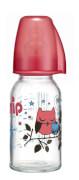nip  Glas 125 ml Girl mit Trinksauger Silikon