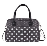 bébé-jou Wickeltasche Grey Dots