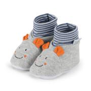 Sterntaler Baby-Schuh Norbert silber Gr.15/16