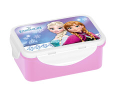 Disney Frozen - Die Eiskönigin Brotdose Anna + Elsa, 4-fach Clipverschluss