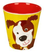 Die Spiegelburg - Freche Rasselbande Melamin-Becher Hund, Bisphenol A frei