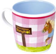 Melamin-Tasse Mein kleiner Ponyhof