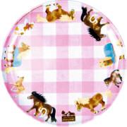 Die Spiegelburg - Mein kleiner Ponyhof Melamin-Teller ca.  # 17 cm, Bisphenol A frei
