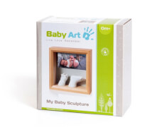 Baby Art My little steps -Window Sculpture Frame weiß/schwarz