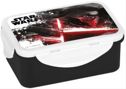 Star Wars Brotdose groß, Kylo Ren, 4fach Clipverschluss, mit Einsatz