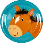 Melamin-Teller Pferd Freche Rasselbande