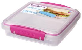 Sistema Sandwich To Go, pink, 450 ml