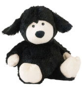 Warmies® Wärmetier Schaf, schwarz