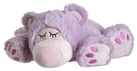 Warmies® Wärmetier Sleepy Bear, lila