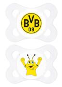 MAM BorussiaDortmund Schnuller Silikon 0-6 Monate
