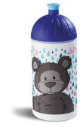 NICI Trinkflasche Bär dunkelbraun, 500 ml, ca. 20 cm