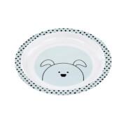 Lässig Plate Melamine Silicone Little Chums Dog