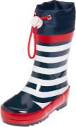 Playshoes Gummistiefel maritim, marine/weiß, Gr. 20/21