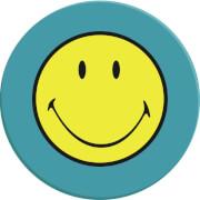 Smiley Salatteller, aqua blau