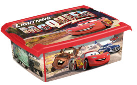 Keeper Kids Cars DekoBox, 10 l