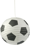 Pendelleuchte Papierballon Fußball