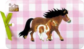 Melamin-Brettchen  Mein kleiner Ponyhof
