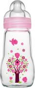 MAM Feel Good Glass Bottle (Mädchen), 260 ml
