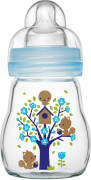 MAM Feel Good Glass Bottle (Jungen), 170 ml