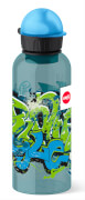 Emsa 518129 TEENS Tritan Trinkflasche Graffiti, 0,6 l