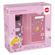Emsa 518137 Tritan Trinkflasche mit Brotdose Princess