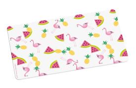 Flamingo Brettchen Früchte