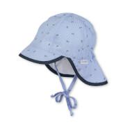 Sterntaler Schirmmütze mit Nackenschutz himmel Gr.45